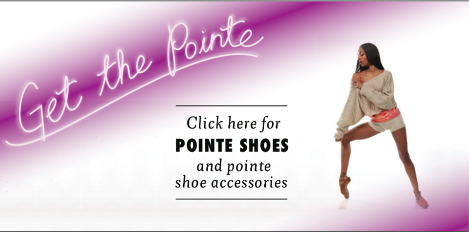 pointe shoes banner